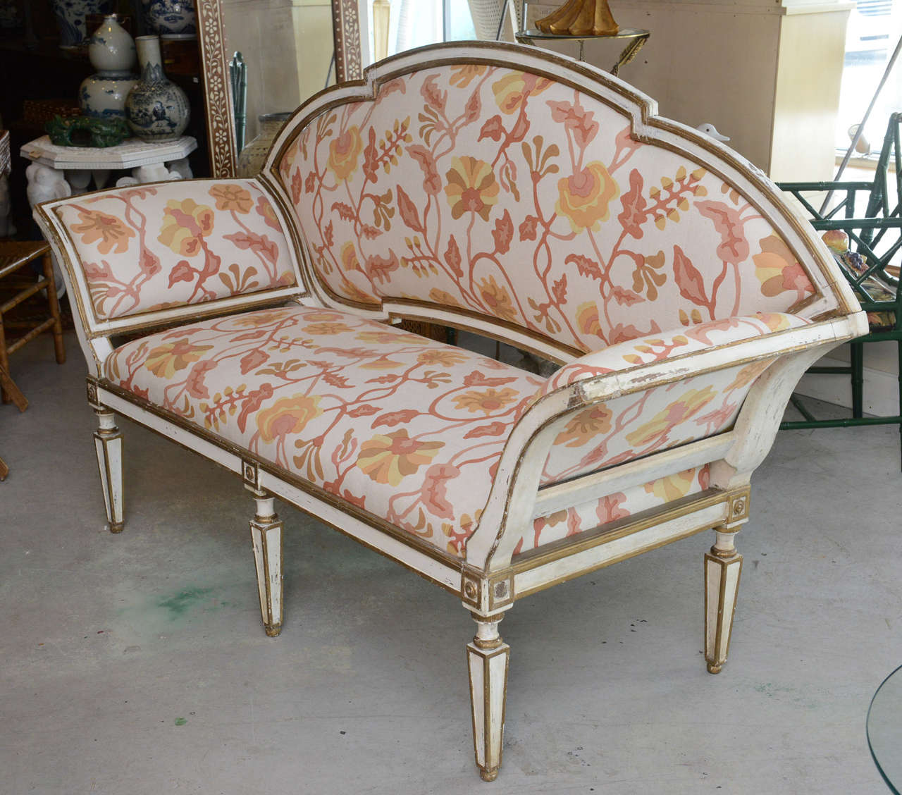 18th Century Venetian Settee For Sale 2