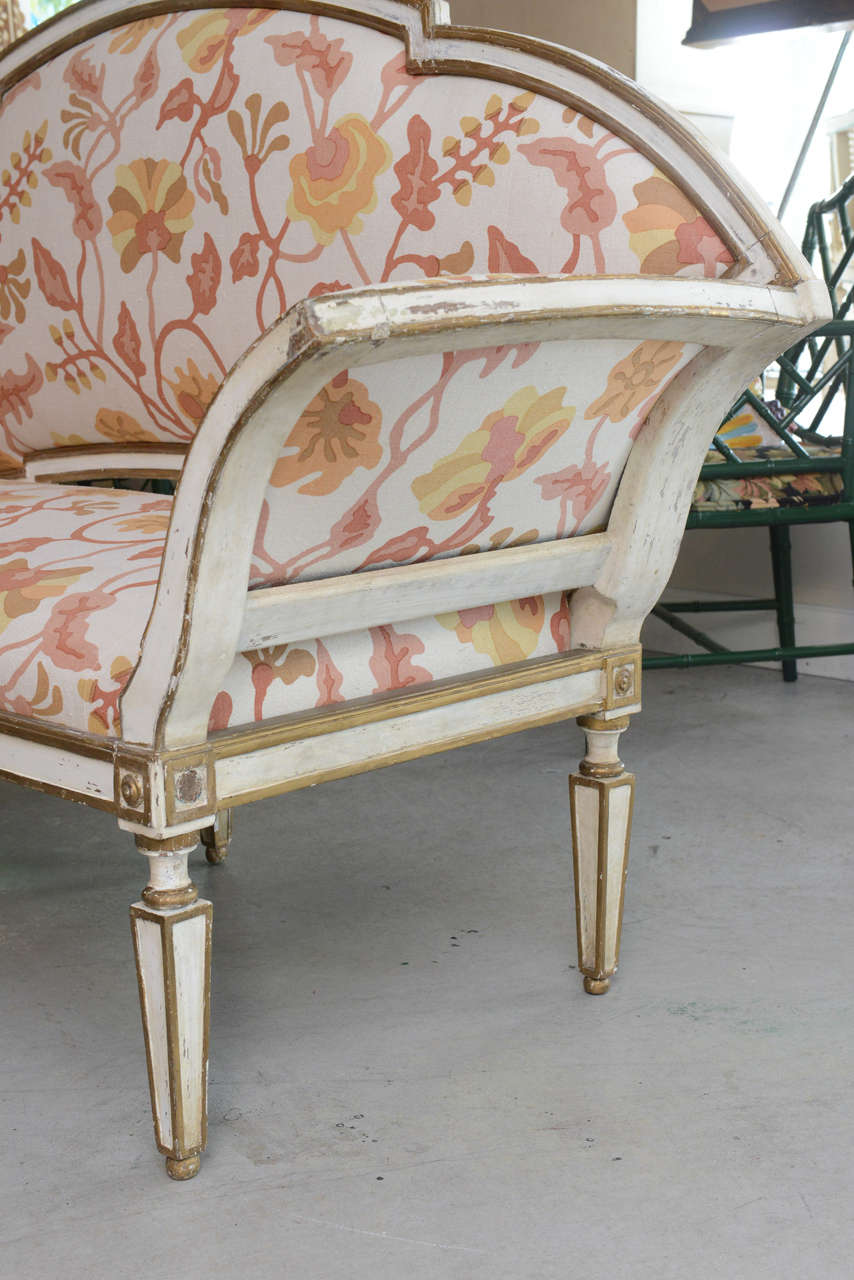 18th Century Venetian Settee For Sale 3