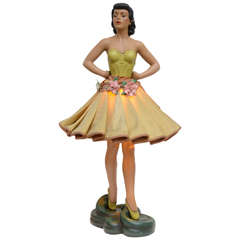 38 Inch Cabana Dancer Lamp