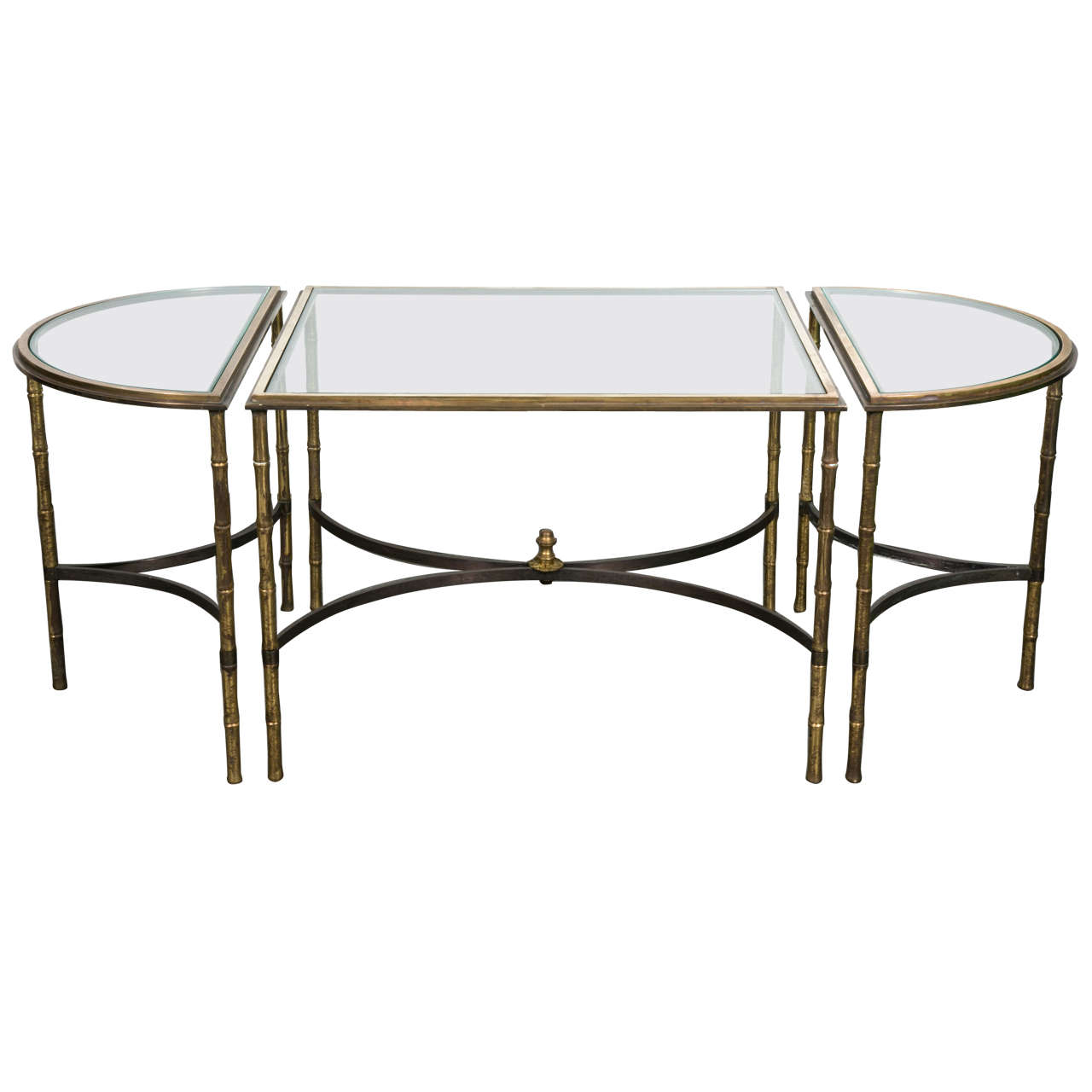 Elegant maison bagu s cocktail table for sale at 1stdibs for Cocktail tables parts