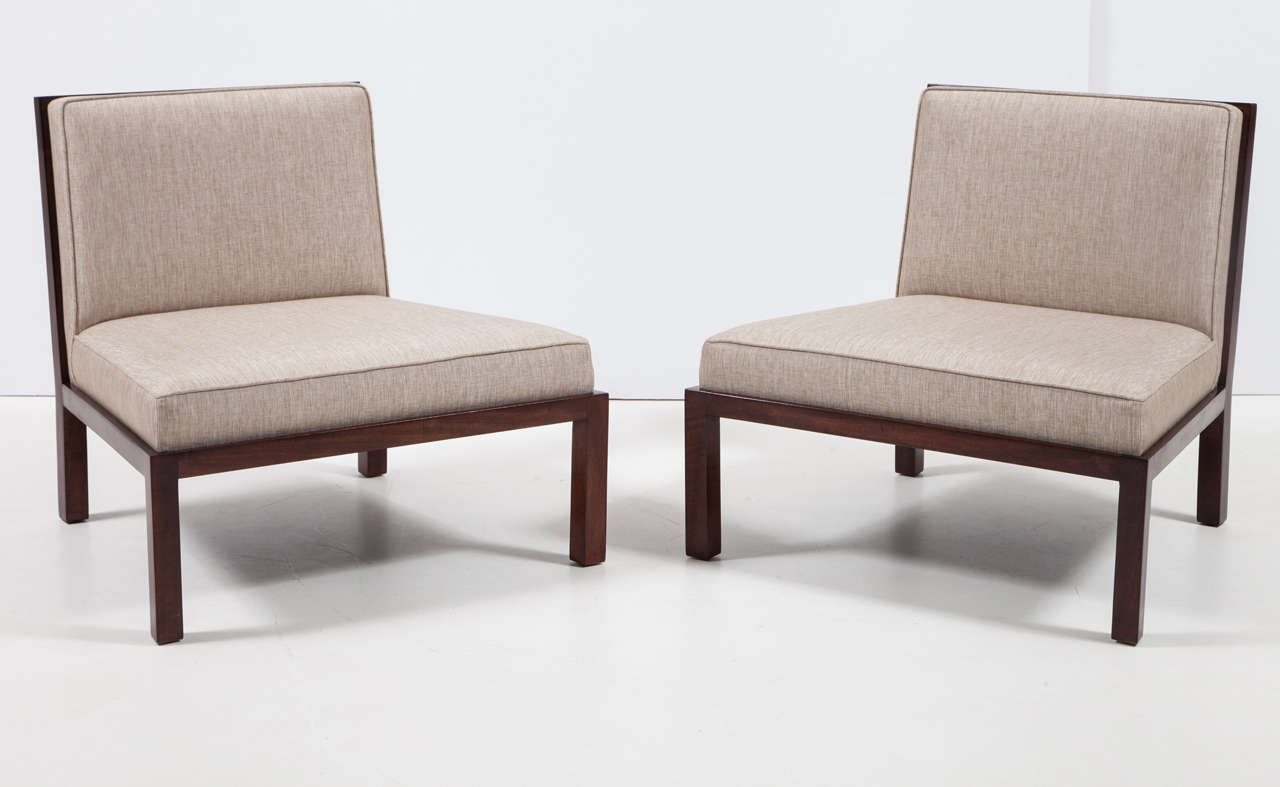 Mid-Century Modern Michael Taylor for Baker Chairs For Sale