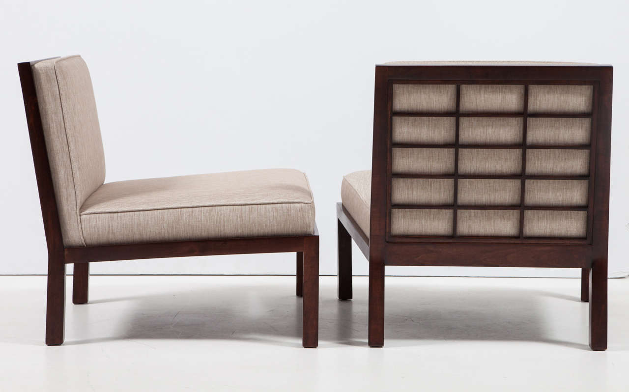 Michael Taylor for Baker Chairs In Excellent Condition For Sale In New York, NY