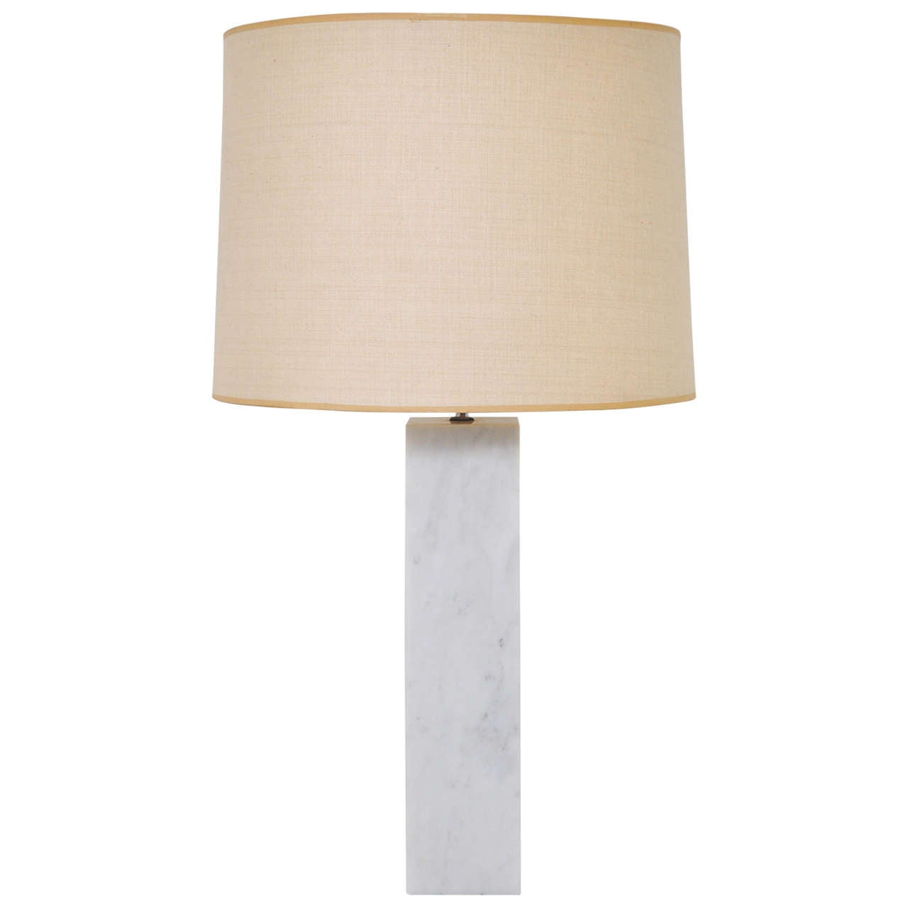 Robert Sonneman Marble Table Lamp