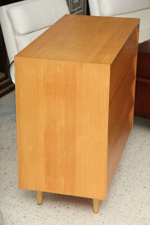 Pair of Florence Knoll Four-Drawer Chests 6