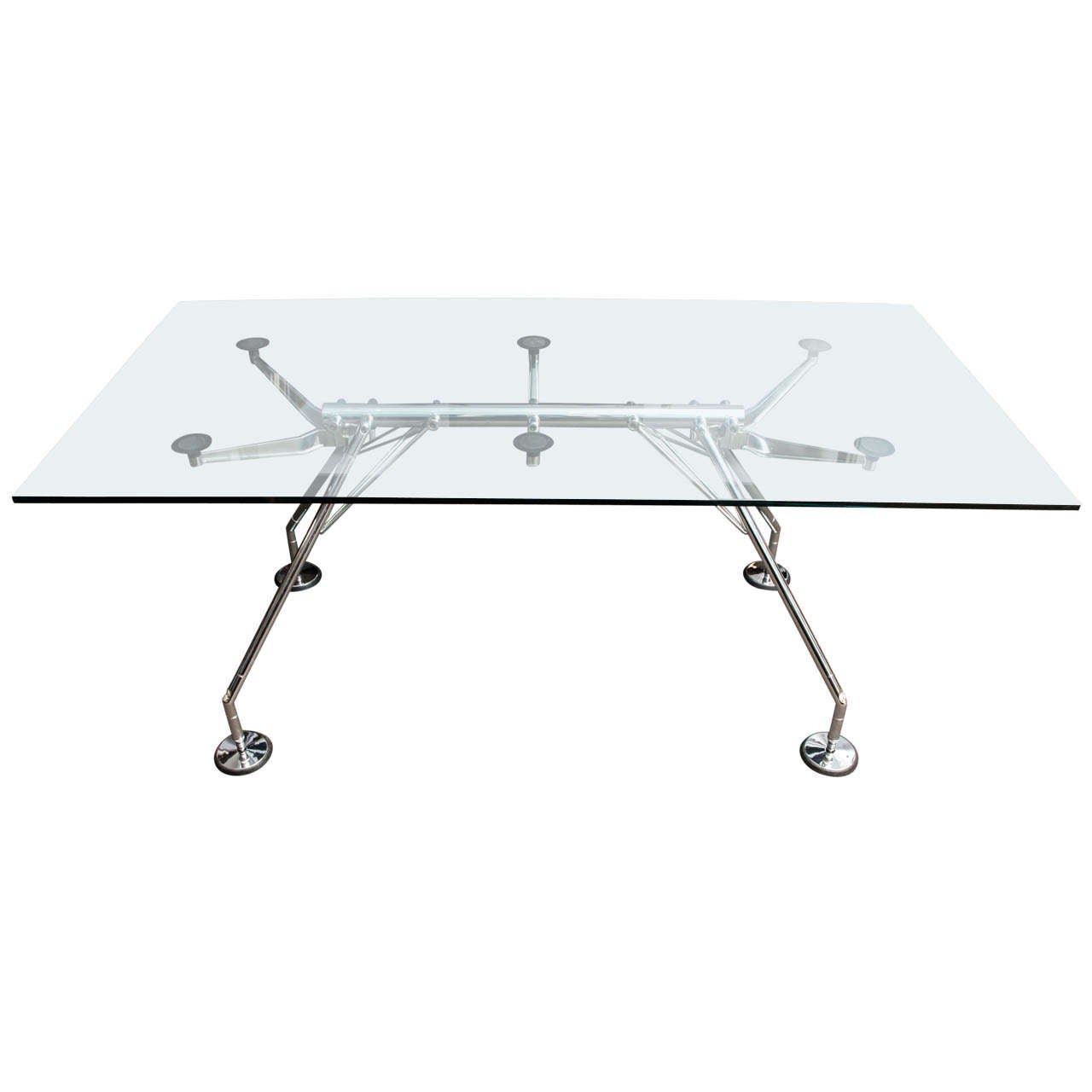 nomos table by norman foster for tecno at 1stdibs