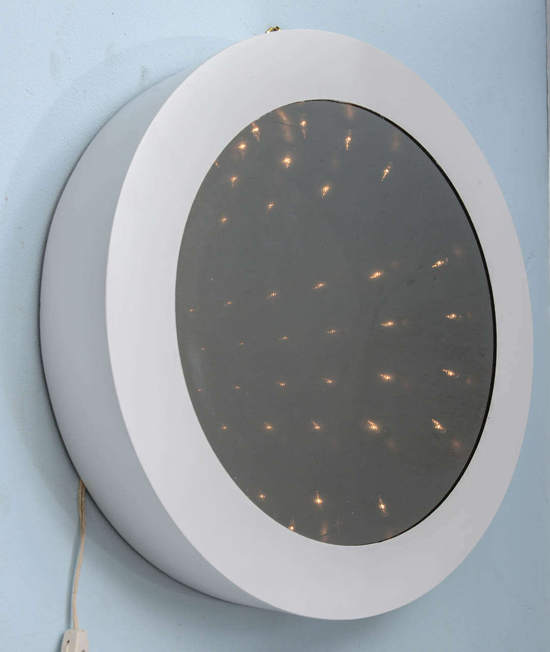 Cool Mod 1970 S Vintage Infinity Tunnel Mirror Lamp For
