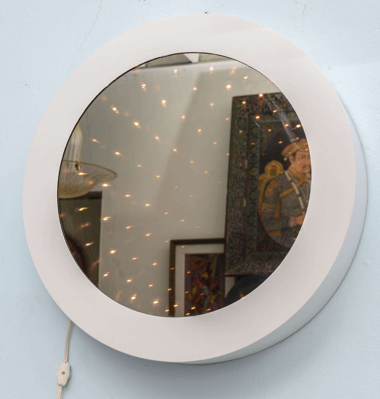 Cool Mod 1970s Vintage Infinity Tunnel Mirror Lamp At 1stdibs