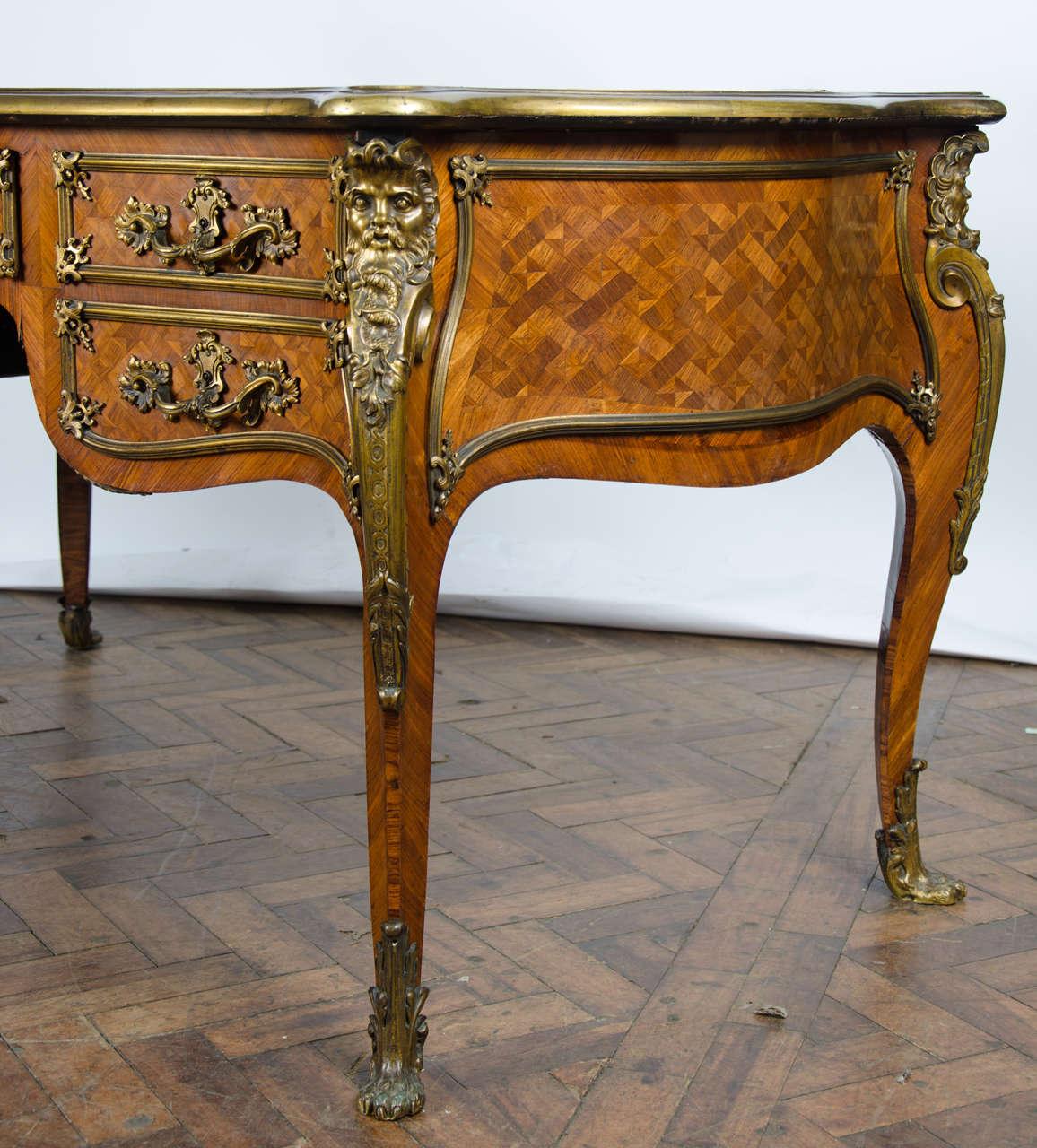 antique bureau plat at 1stdibs. Black Bedroom Furniture Sets. Home Design Ideas