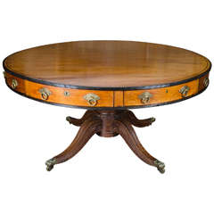 Anglo-Indian Drum Tables, 19th Century