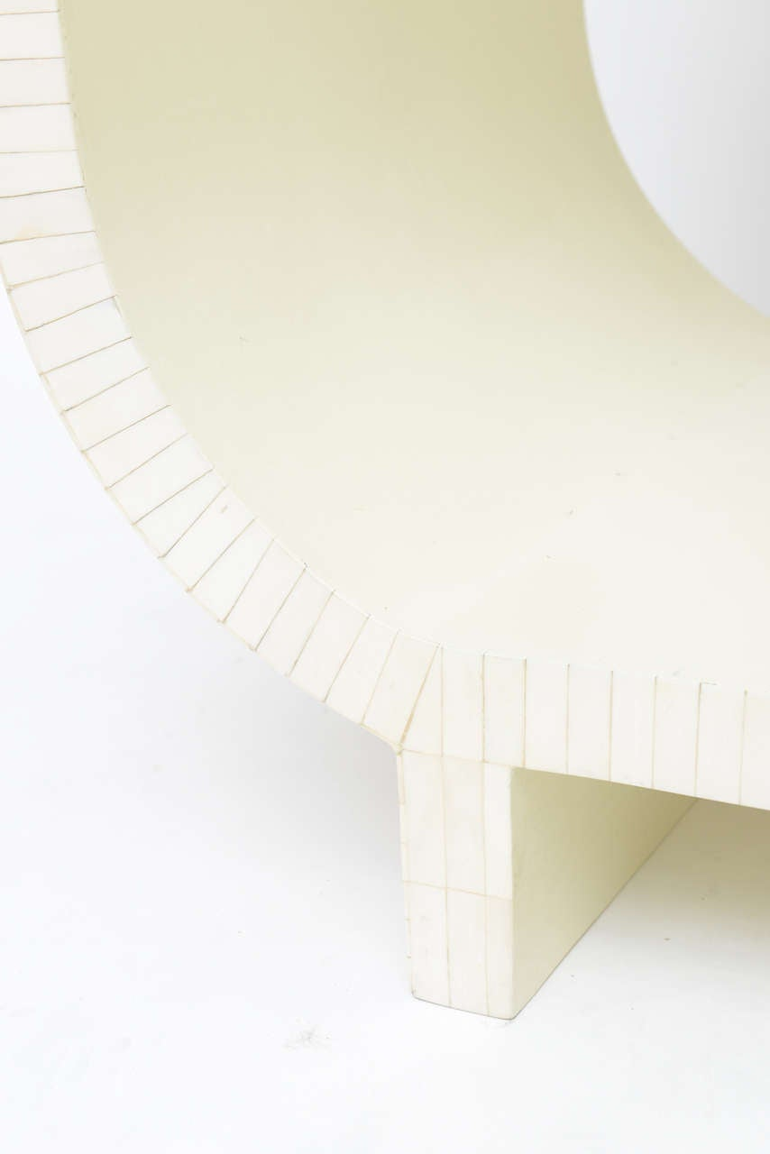 Tessellated Bone Étagère or Nesting Tables by Enrique Garcel 7