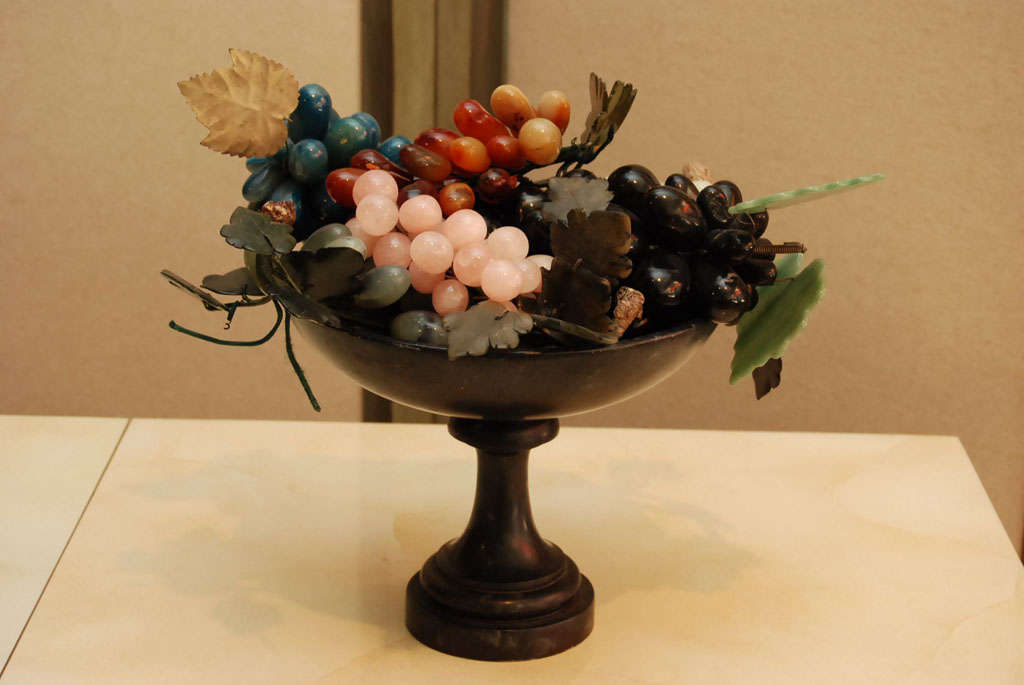 Iron Compote with Marble Fruit 3
