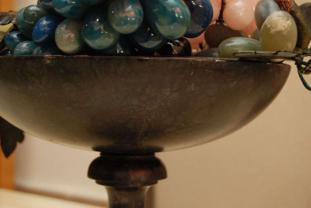 Iron Compote with Marble Fruit 9