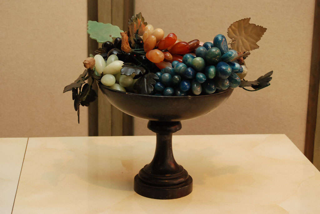 Iron Compote with Marble Fruit 2