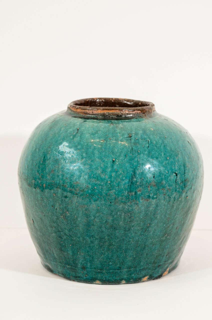Antique Chinese Ceramic Ginger Jar 2