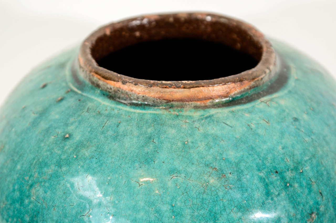 Antique Chinese Ceramic Ginger Jar 4