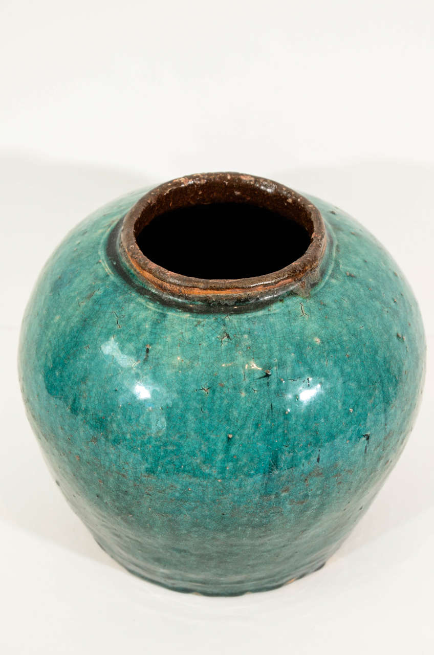 Antique Chinese Ceramic Ginger Jar 5