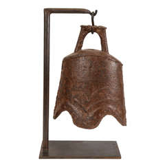 18th Century Chinese Cast Iron Bell