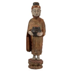Burmese Standing Buddha, circa 1920
