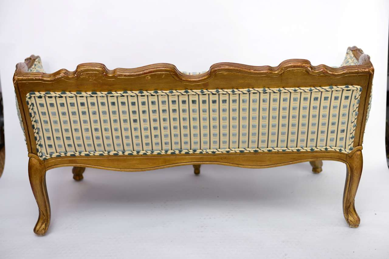 Late 19th Century Louis XV Style Miniature Sofa For Sale 3