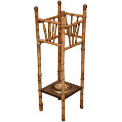 19th Century Bamboo Umbrella Stand