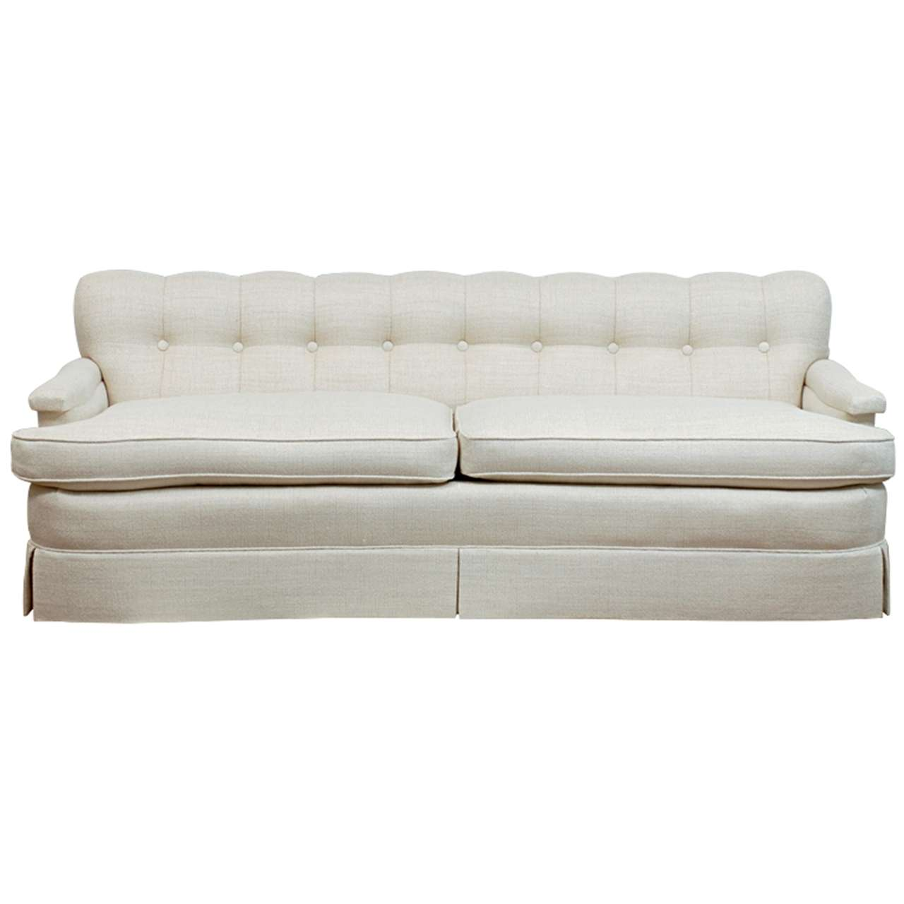 Elegant Vintage Sofa In The Style Of Billy Haines At 1stdibs