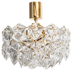 Kinkeldey Hexagonal Crystal Chandelier