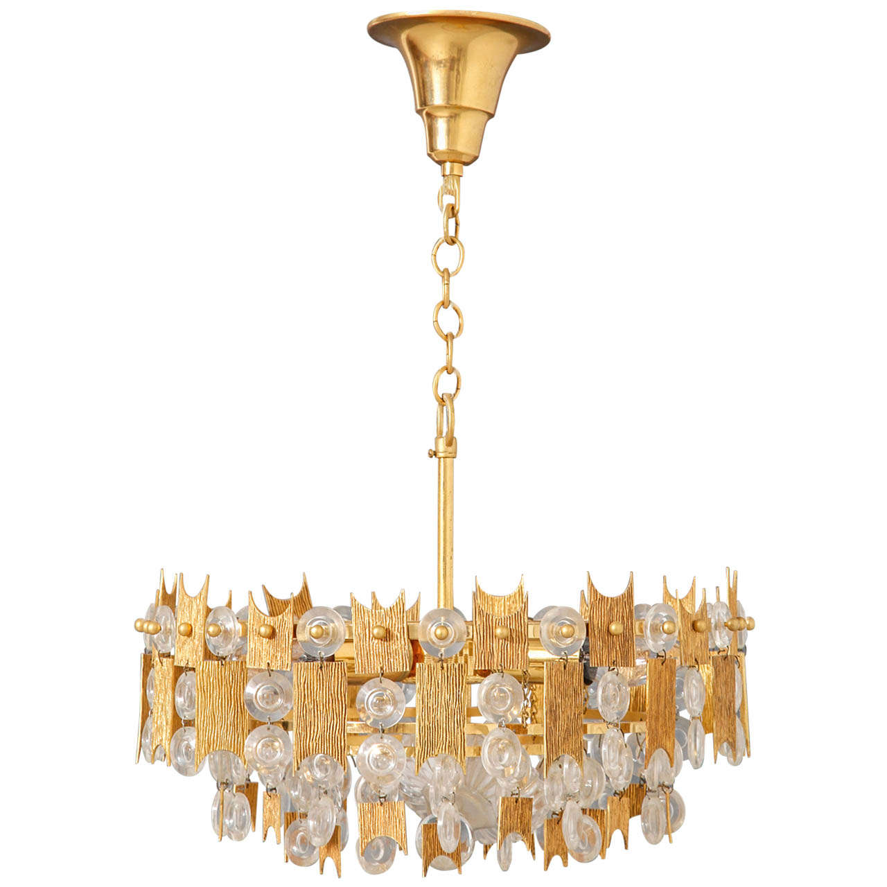 Chandelier designed by Palwa,Germany