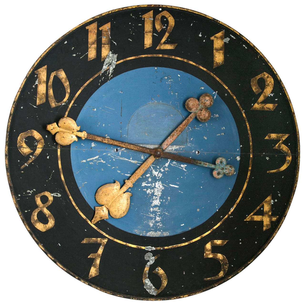 Rare 1940\'s Glass Face Advertising Shop Wall Light Up Clock For ...