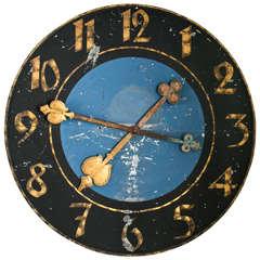 Rare Clock Face