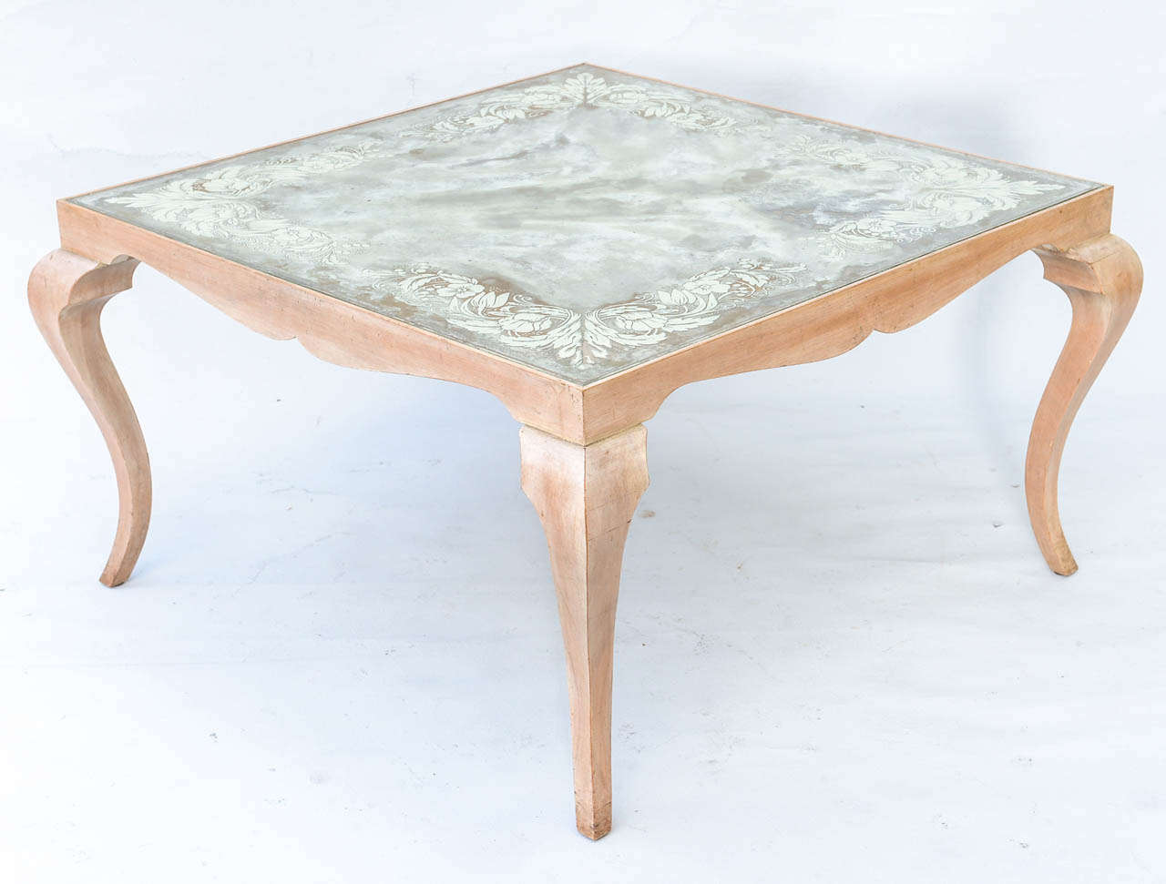 Eglomise Coffee Table For Sale 1