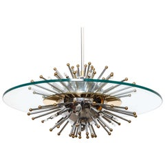Lightolier Sputnik Starburst Chandelier