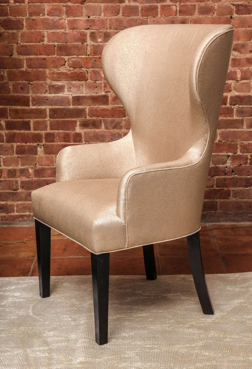 American Catherine Wingback Chair by Arlene Angard Collection For Sale