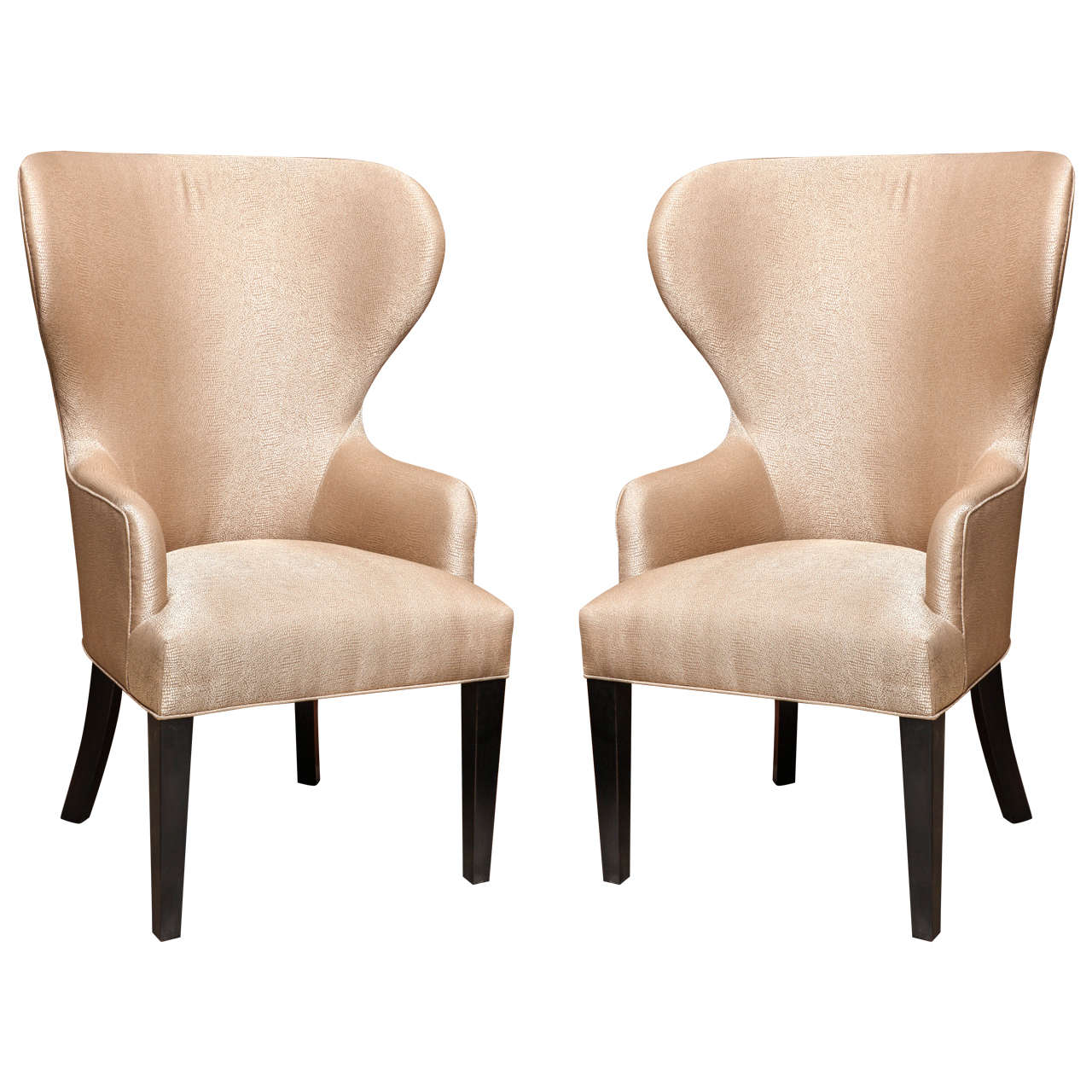 Catherine Wingback Chair by Arlene Angard Collection For Sale