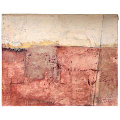 "Contemporary Painting ""Excavation"" by Jerry Teters"