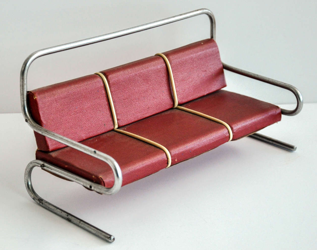 Mid-20th Century Art Deco/Bauhaus Salesman's Sample Furniture Group/Jindrich Halabala For Sale