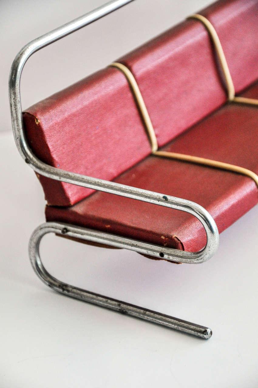 Art Deco/Bauhaus Salesman's Sample Furniture Group/Jindrich Halabala For Sale 1