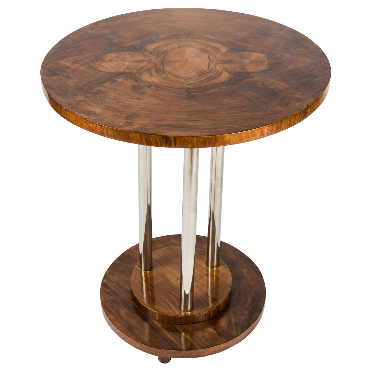 art deco side table at 1stdibs. Black Bedroom Furniture Sets. Home Design Ideas