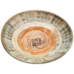 14th Century Ming Dynasty Bounty Plate