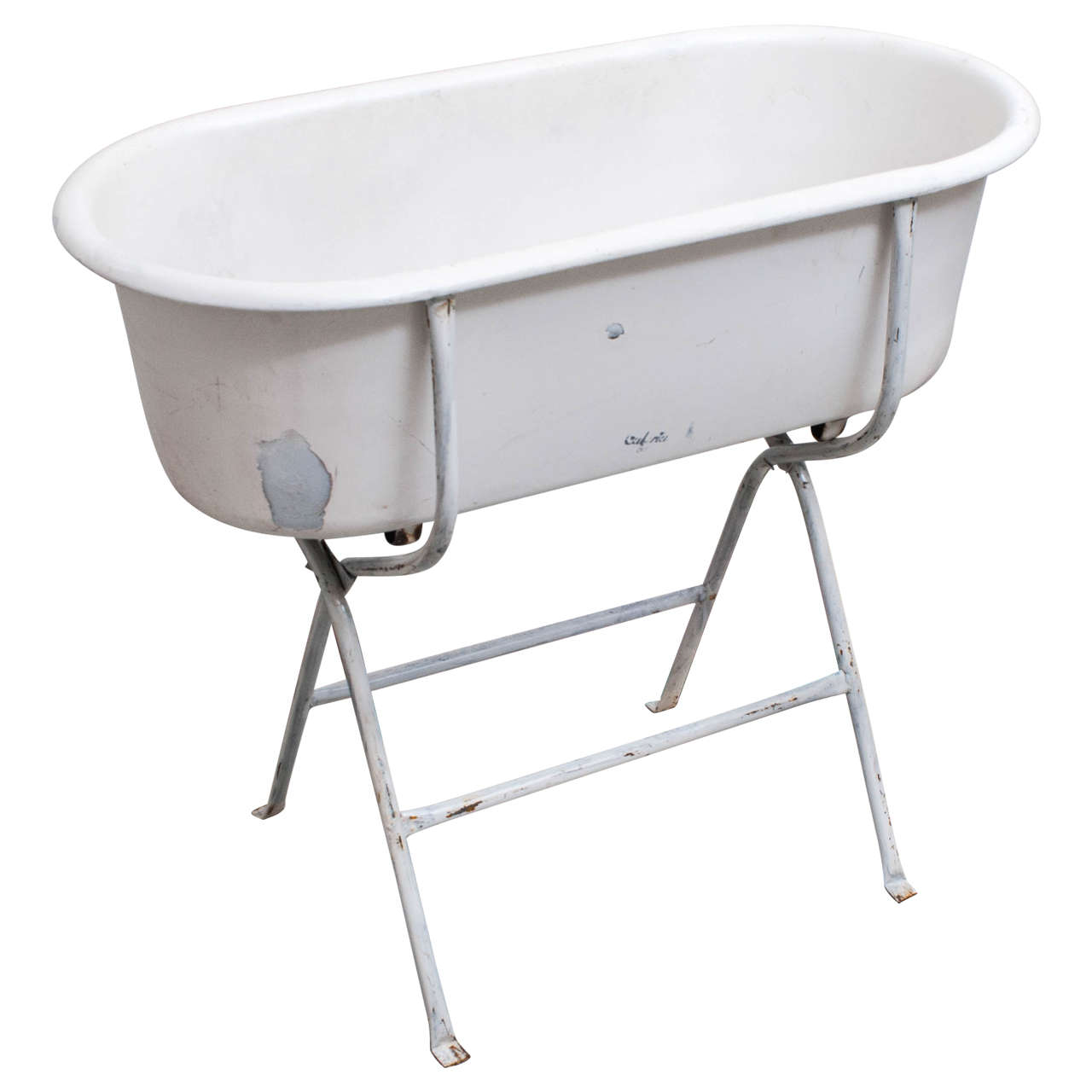 Baby Bath on Stand at 1stdibs