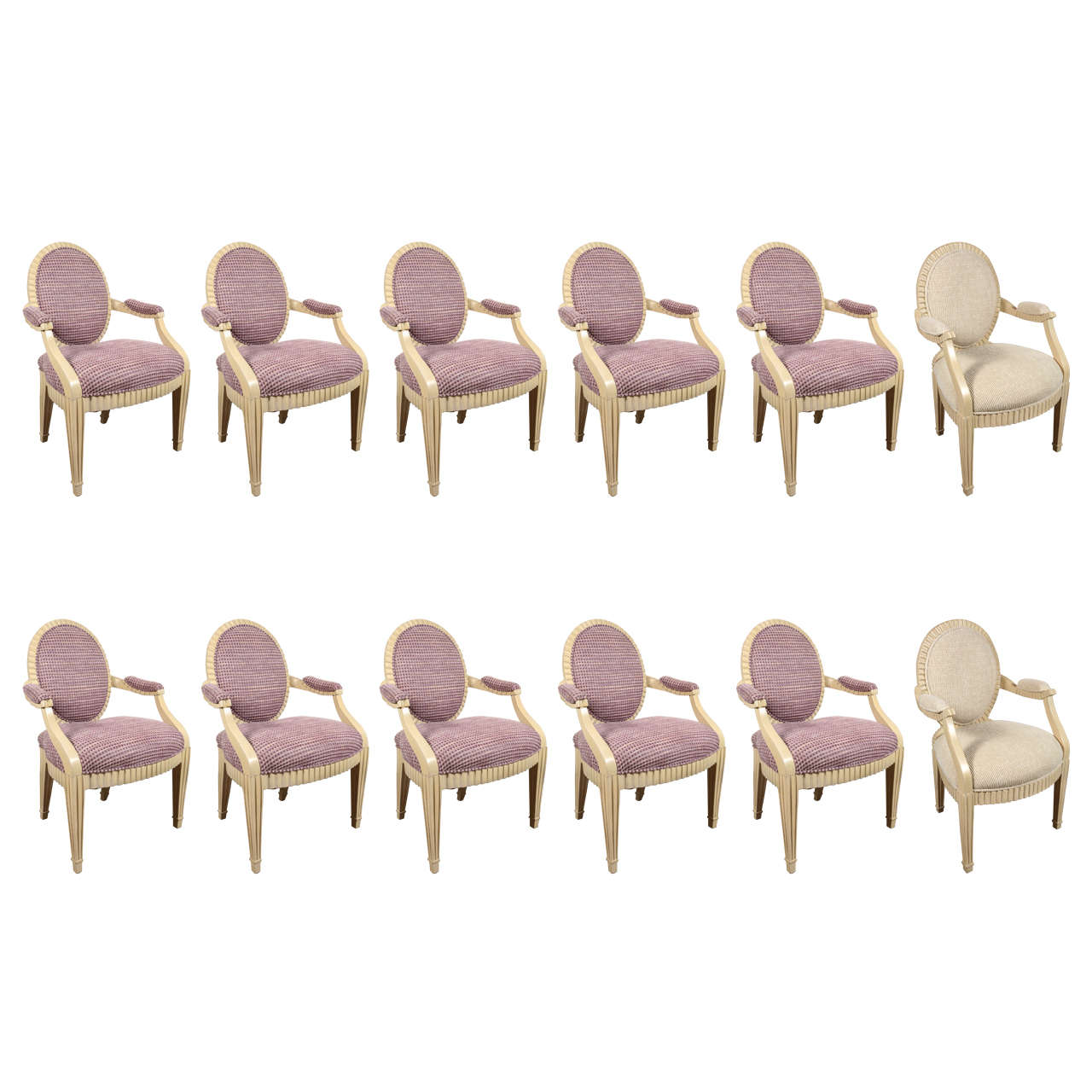 12 Dining Chairs by Steve Chase