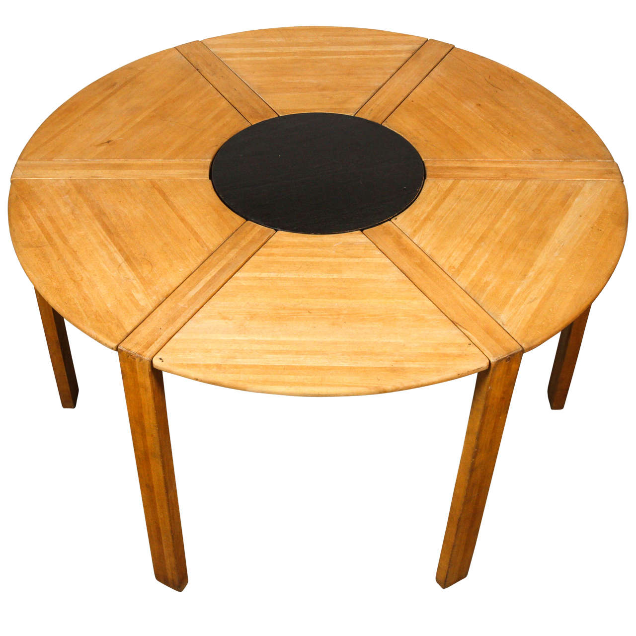 Round Table By Jens Quistgaard For Nissen At 1stdibs. Full resolution  image, nominally Width 1280 Height 1280 pixels, image with #AF5301.
