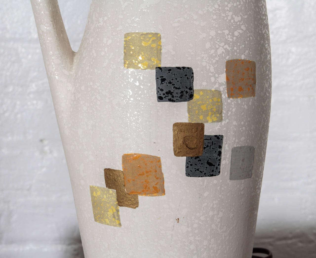 Tye of California Ceramic Table Lamp For Sale 1
