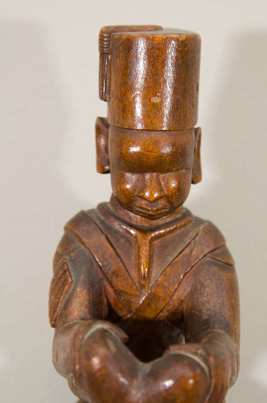 20th Century Kamba Tribal Colonial Carving, Kenya In Good Condition For Sale In New York, NY