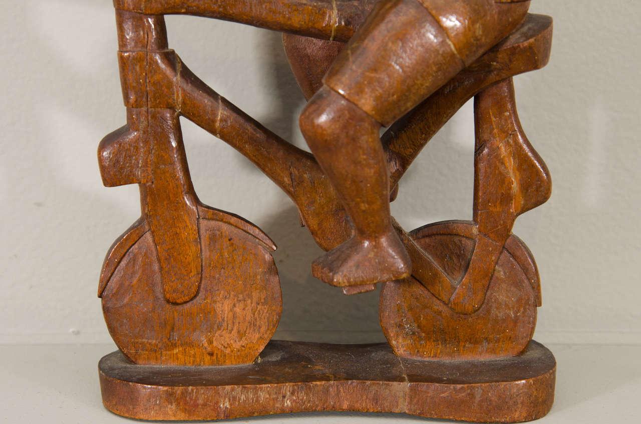 Wood 20th Century Kamba Tribal Colonial Carving, Kenya For Sale