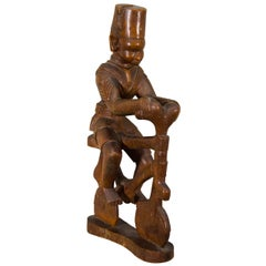 20th Century Kamba Tribal Colonial Carving, Kenya