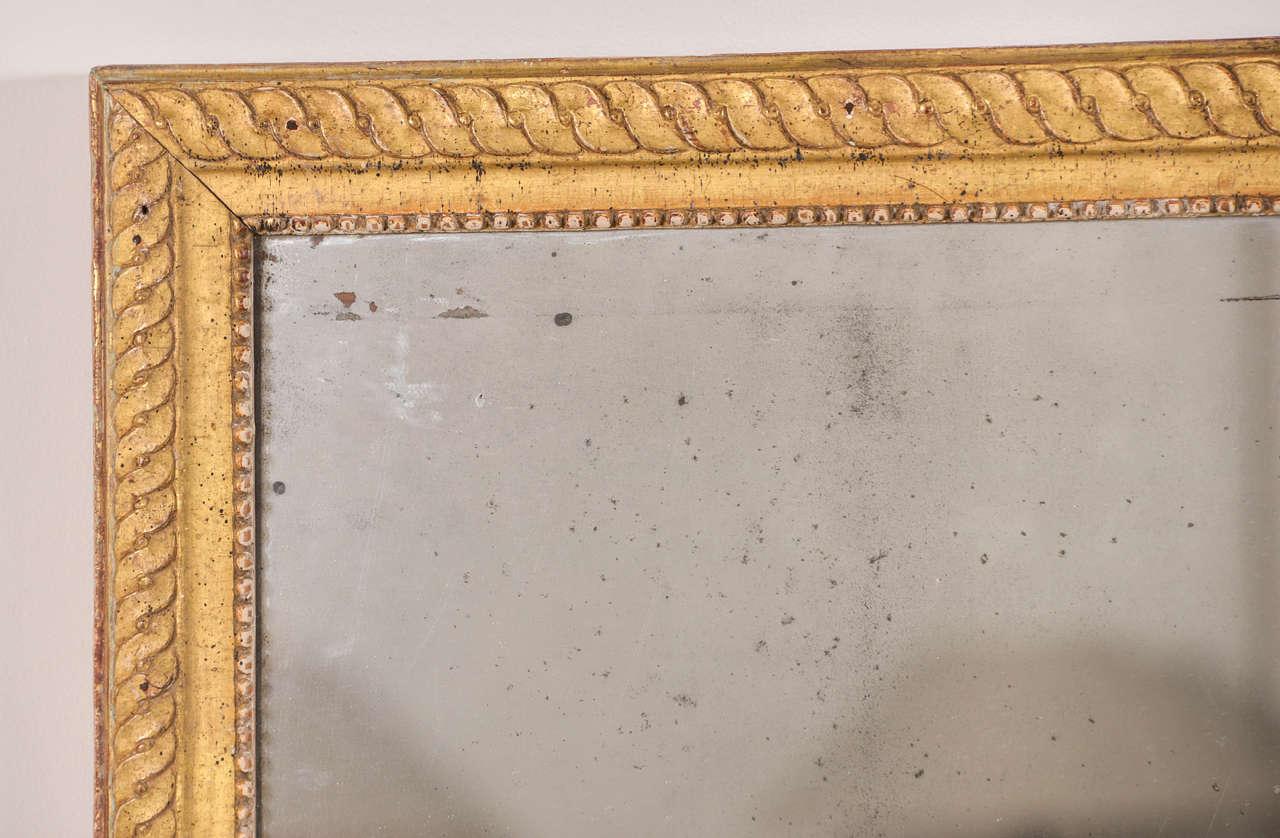French Louis XVI Mirror For Sale