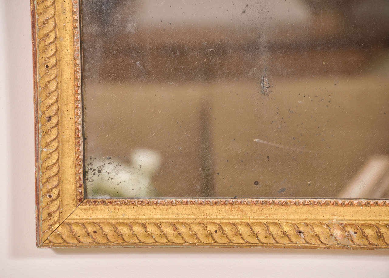 Louis XVI Mirror In Good Condition For Sale In Houston, TX