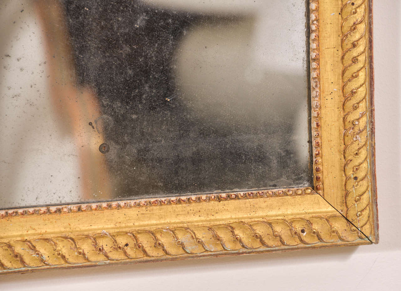 18th Century and Earlier Louis XVI Mirror For Sale