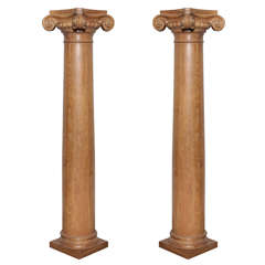 Pair of Ionic Columns