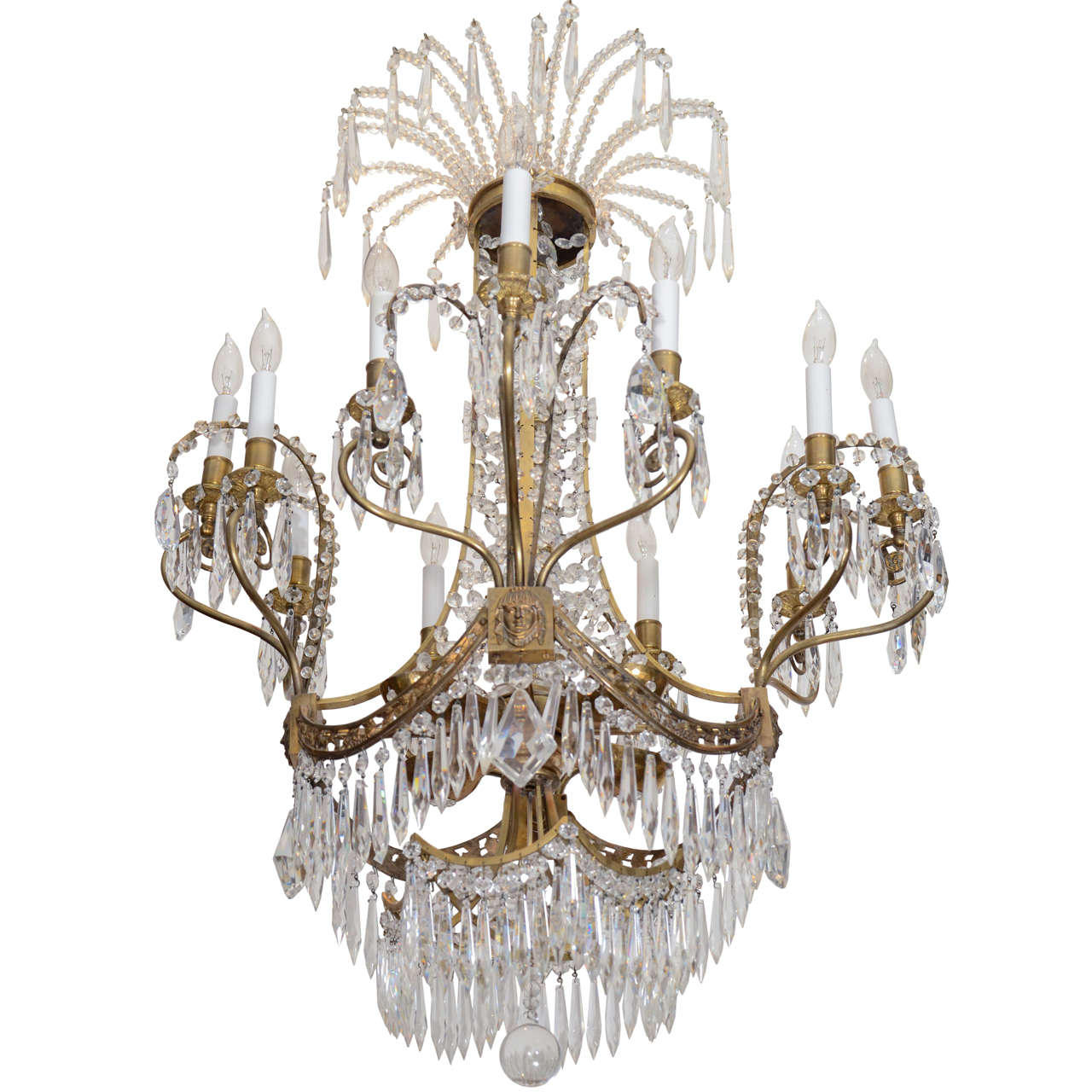 Russian Crystal Chandelier from the Plaza Hotel in New York City ...